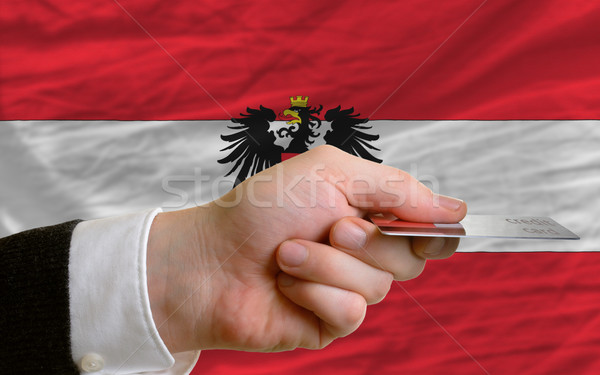 buying with credit card in austria Stock photo © vepar5