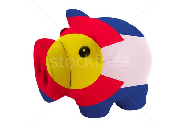 豊富な 銀行 色 フラグ アメリカン ストックフォト © vepar5