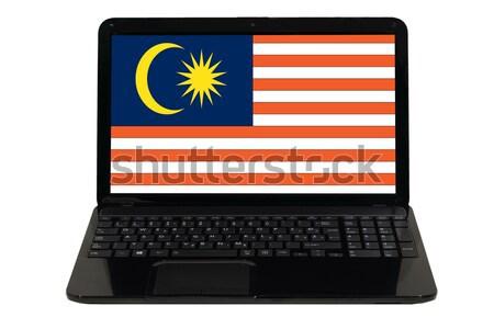 smartphone national flag of malaysia    Stock photo © vepar5