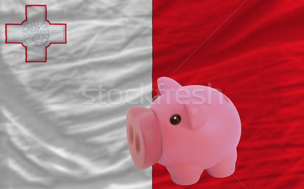 Riche banque pavillon Malte Photo stock © vepar5