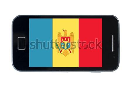 Bandeira Barbados telefone telefone móvel Foto stock © vepar5