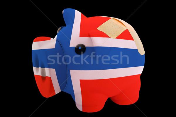 Ricca banca colori bandiera Foto d'archivio © vepar5