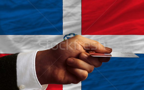 buying with credit card in dominican Stock photo © vepar5