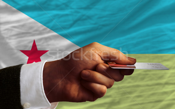 buying with credit card in djibouti Stock photo © vepar5