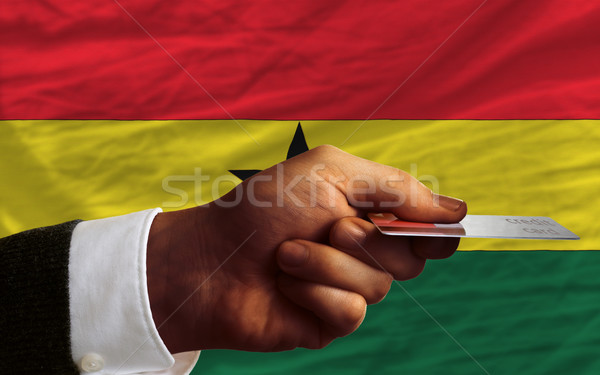 buying with credit card in ghana Stock photo © vepar5