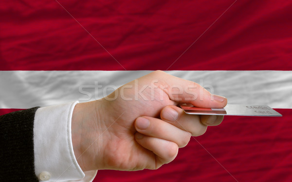 buying with credit card in latvia Stock photo © vepar5
