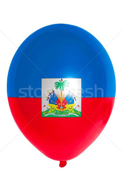 バルーン フラグ ハイチ 幸せ 旅行 ストックフォト © vepar5
