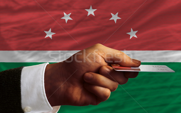 buying with credit card in maghreb Stock photo © vepar5