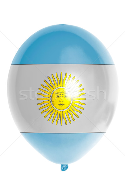 Balloon colored in  national flag of argentina    Stock photo © vepar5