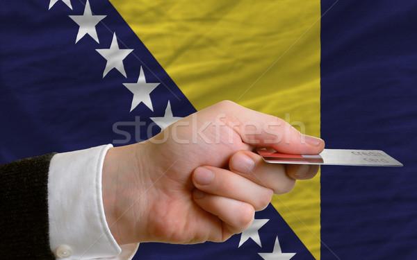 buying with credit card in bosnia herzegovina Stock photo © vepar5