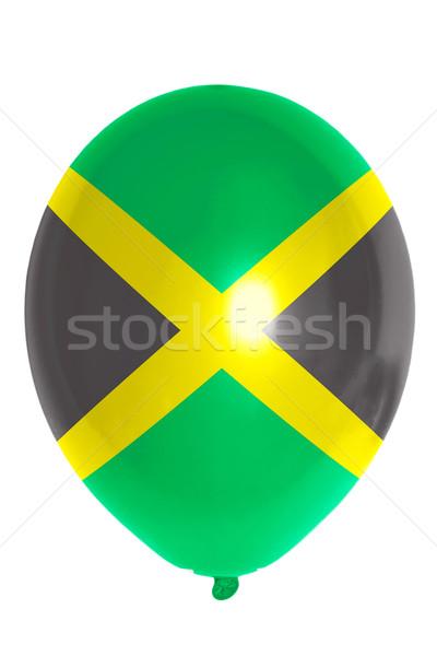 Globo bandera Jamaica feliz viaje Foto stock © vepar5
