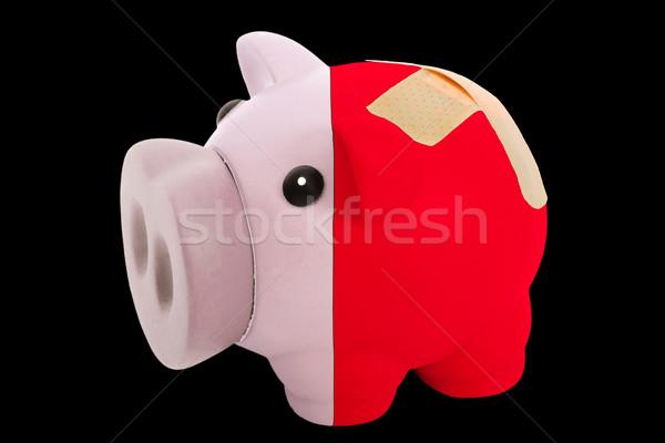 豊富な 銀行 色 フラグ ストックフォト © vepar5