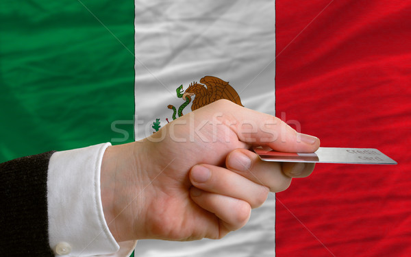 buying with credit card in mexico Stock photo © vepar5