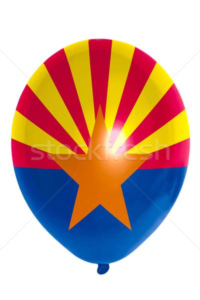 Ballon Flagge Arizona glücklich Stock foto © vepar5