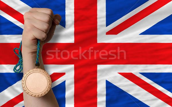 青銅 金メダル スポーツ フラグ イギリス ストックフォト © vepar5