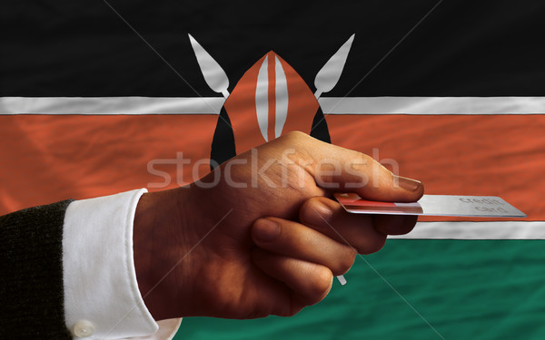 buying with credit card in kenya Stock photo © vepar5
