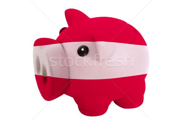 Rijke bank kleuren vlag Letland Stockfoto © vepar5