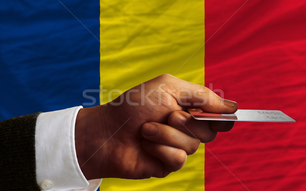 buying with credit card in chad Stock photo © vepar5