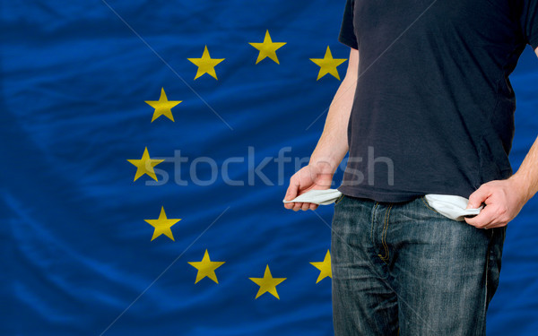recession impact on young man and society in europe Stock photo © vepar5