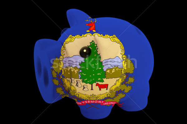 Ricos banco colores bandera americano Foto stock © vepar5