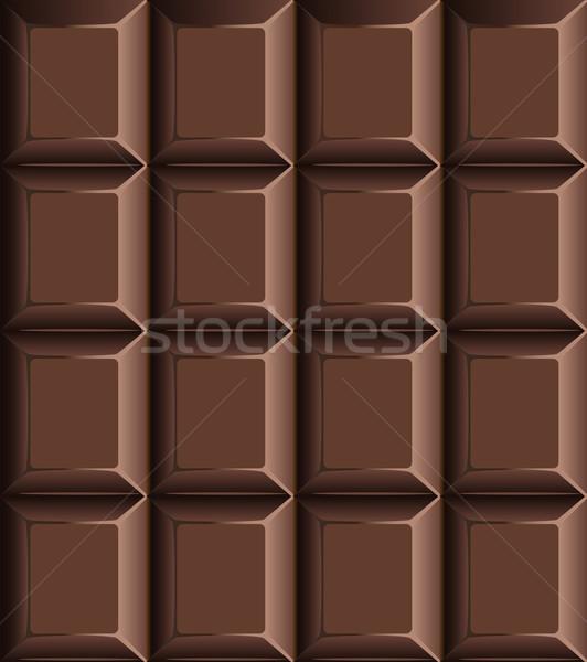 Melkachtig individueel blokken Stockfoto © veralub