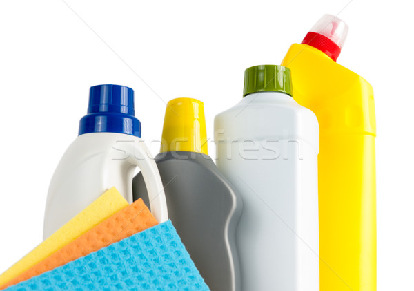 Cleaning Supplies And Cloths Stock photo © veralub