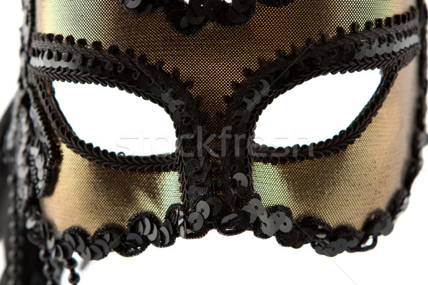 Black and gold carnival mask Stock photo © veralub