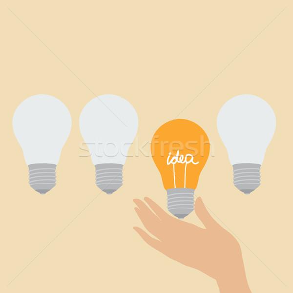 Choosing the idea Stock photo © veralub