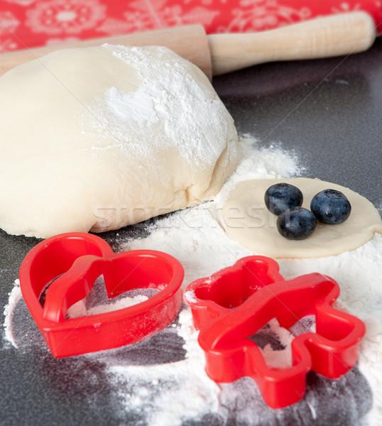 Baking Fresh Cookies Stock photo © veralub