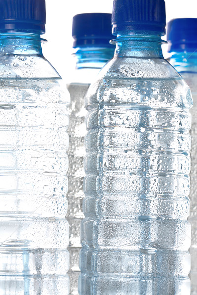 Cold bottled water Stock photo © veralub