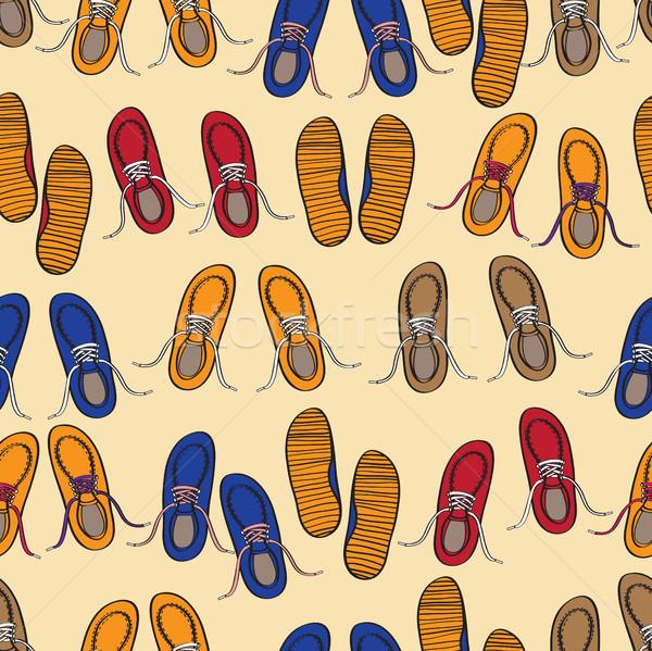 Model pantofi ocazional formatori Imagine de stoc © veralub