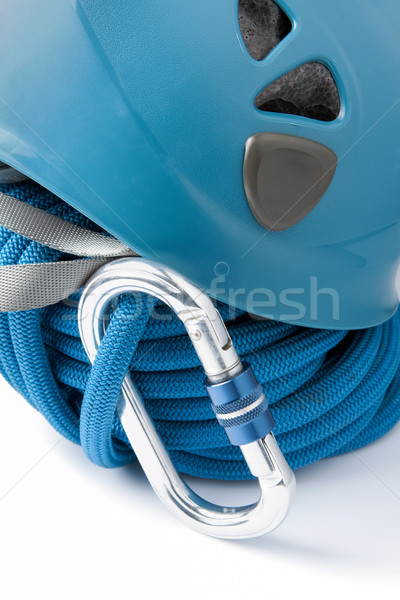 Mountaineering safety equipment Stock photo © veralub