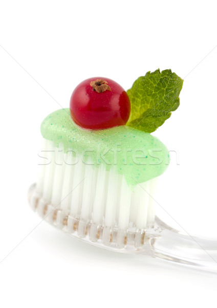 Fresh Minty Toothbrush Stock photo © veralub