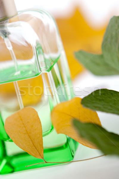 Stock photo: Bottle of perfume