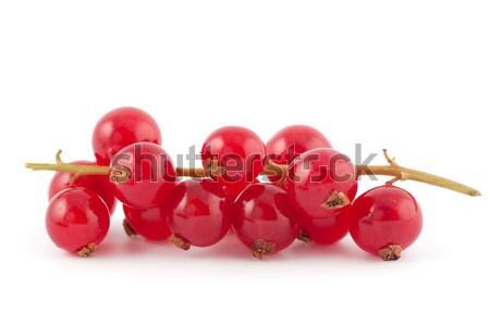 Taze kırmızı sulu kullanılmış gıda pişirme Stok fotoğraf © veralub