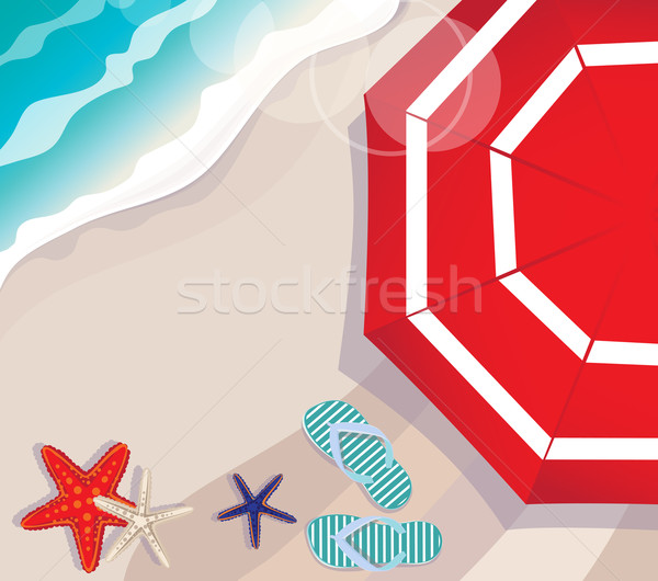 Summer vacation at the seaside Stock photo © veralub