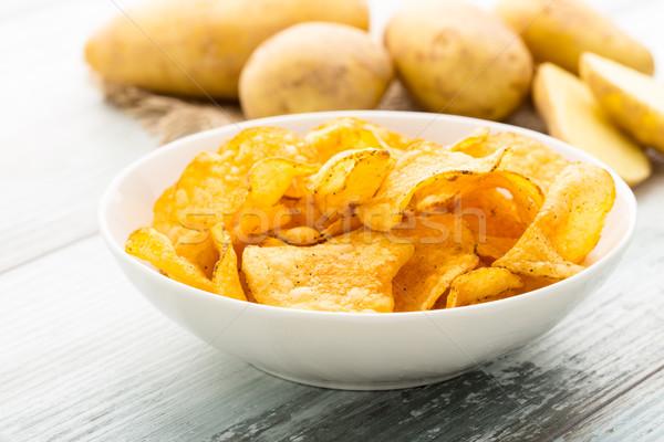 potato crisps Stock photo © vertmedia