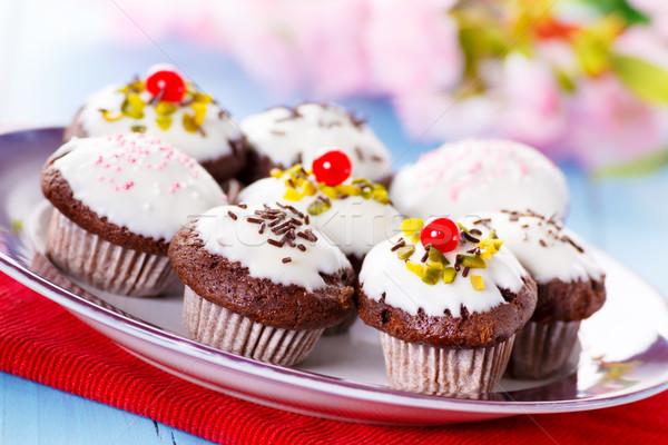 Mini cupcakes Stock photo © vertmedia