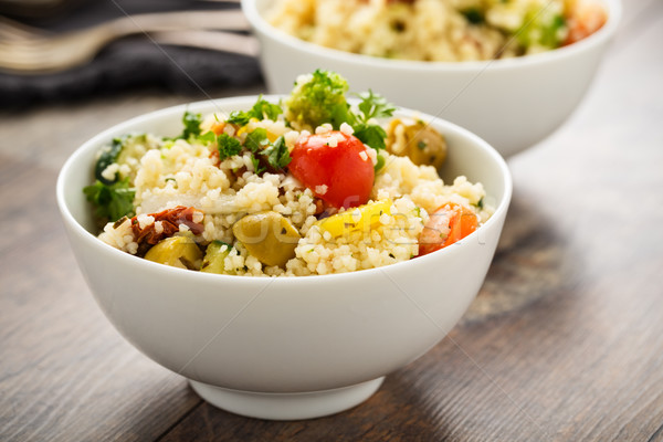 Cous Cous with vegetables Stock photo © vertmedia