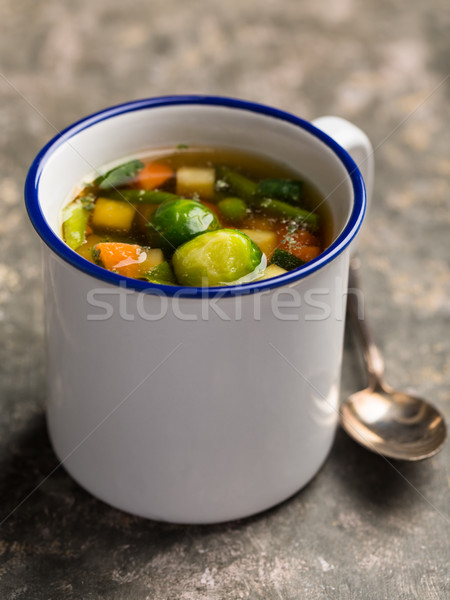 Vegan vegetable soup Stock photo © vertmedia