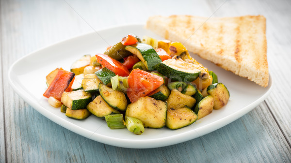 Stock photo: Grilled veggies