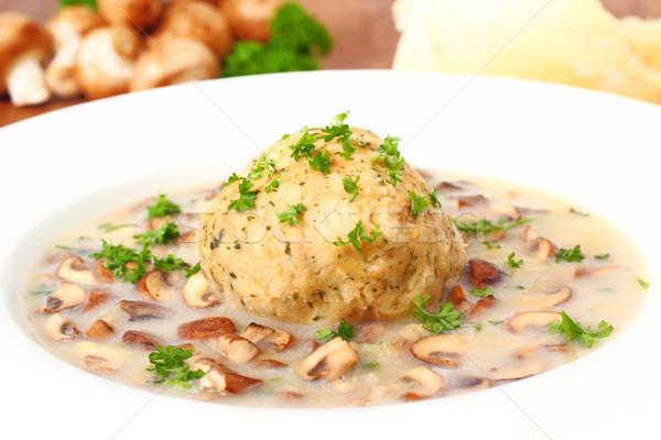Dumpling with mushrooms Stock photo © vertmedia