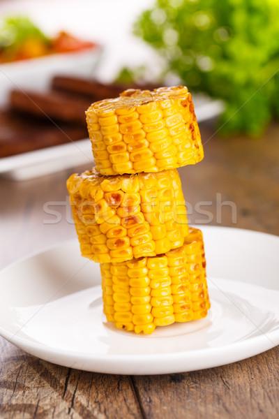 corn cobs Stock photo © vertmedia