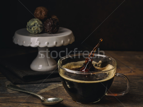 Coffee splash Stock photo © vertmedia