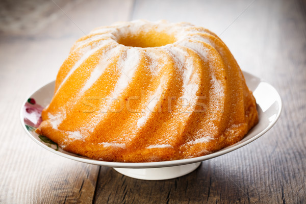 Stock photo: Bundt cake