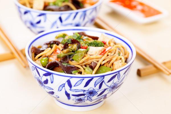 Chow mein Stock photo © vertmedia