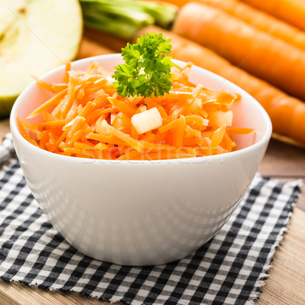 carrot salad with apples Stock photo © vertmedia