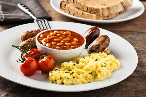 hearty english breakfast Stock photo © vertmedia