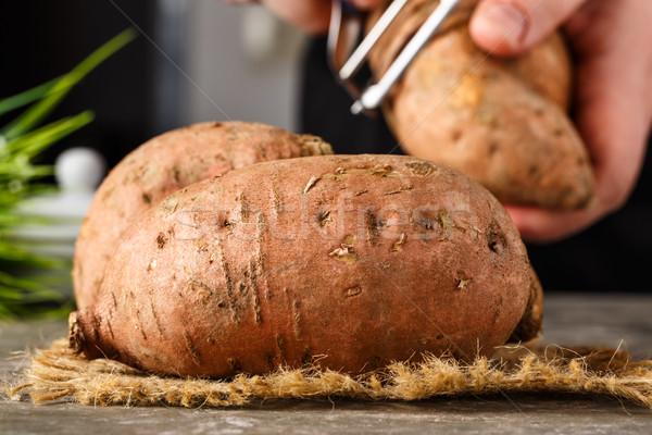 Sweet potatoes Stock photo © vertmedia