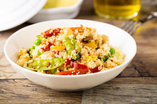 Cous cous with veggies Stock photo © vertmedia